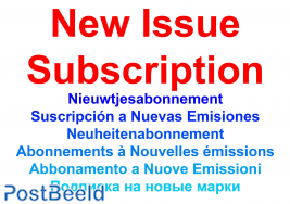 New issue subscription Chemistry