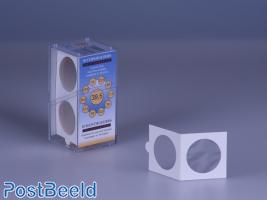 50 Coinholders Self-Adhesive 39.5mm