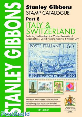 Stanley Gibbons Europe Volume 8: Italy and Switzerland