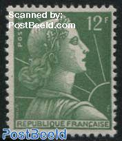 12Fr, Stamp out of set