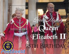 Queen Elizabeth II 95th birthday s/s