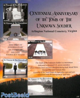 Tomb of the unknown soldier 5v m/s
