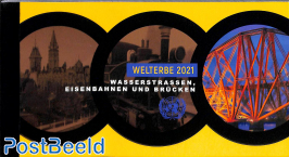 World heritage, prestige booklet
