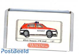VW Golf, Notarzt