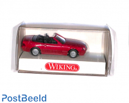 Mercedes 500SL Cabriolet, red