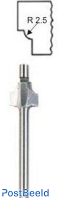 Proxxon Kantenfrees met aanlooptap 5mm 29040