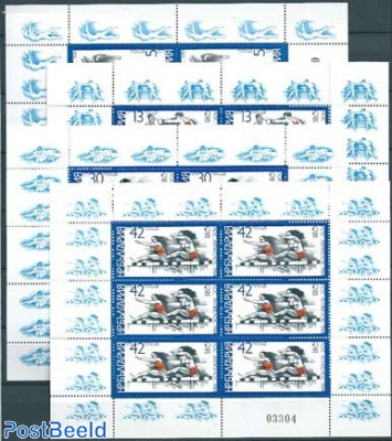 Olympic games 4 minisheets