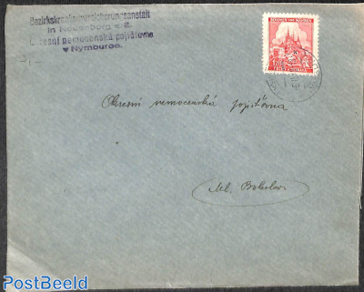 Letter with 1.20 stamp