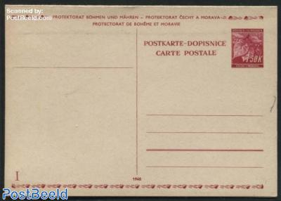 Reply Paid Postcard 1.50/1.50k