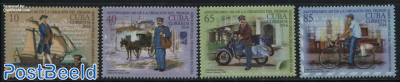 260 Years Postal Services 4v