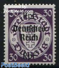 30Rpf, Stamp out of set