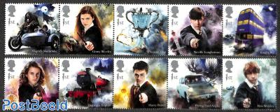 Harry Potter 10v (2x [::::])