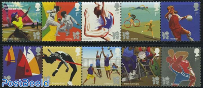 Olympic & paralympic games 10v (2x[::::])