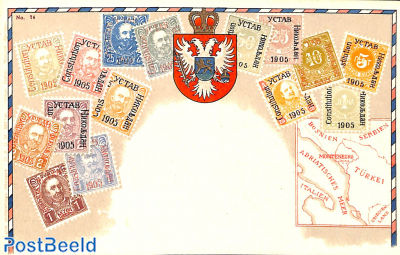 Stamps from Montenegro