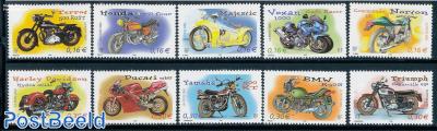 Motorcycles 10v