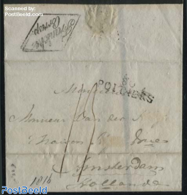 Letter from Poitiers to Amsterdam
