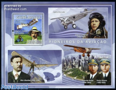 Aviation pioneers, A.S. Dumont s/s
