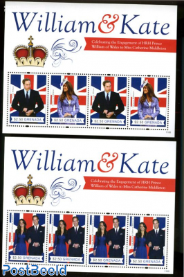 William & Kate royal wedding 2 s/s