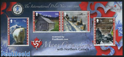 Int. Polar year s/s, joint issue Canada