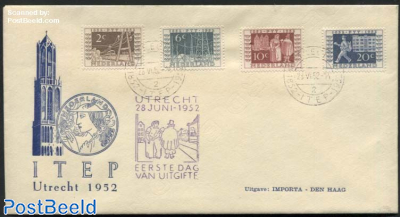 100 Years stamps, ITEP, Cover issued by Importa