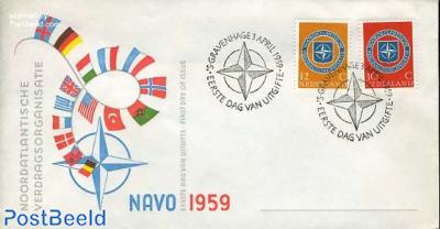 NATO 2v FDC without address