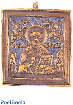 De Heilige Nicolaas, Russisch reisikoon 19th century