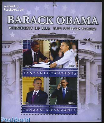Barack Obama 4v m/s